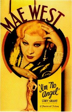 I'm No Angel (1933) Mae West, Cary Grant