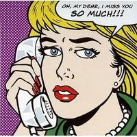 I miss You so much! By Dale: Category: Art Currency: GBP Price: GBP58.00 Retail Price: 58.00 Art Prints for Frames Pop Art Comic Book Art…
