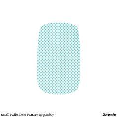 Small Polka Dots Pattern Minx® Nail Wraps