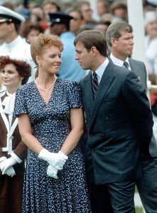 HRH Sarah, Duchess of York and HRH Prince Andrew visit Winnipeg, Canada July 1987