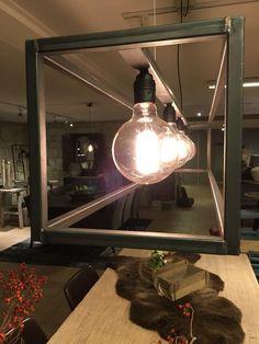 Hanglamp Rimini zwart staal - Verlichting - Collectie - Looiershuis
