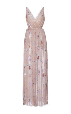 Floral Print Silk Fil Coupe Dress by AGNONA for Preorder on Moda Operandi