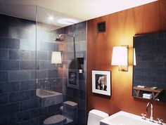 West Village Loft - modern - bathroom - new york - Dufner Heighes Inc