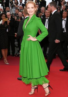 All the Celebrity Looks from the 2017 Cannes Film Festival Red Carpet - Jessica Chastain from InStyle.com