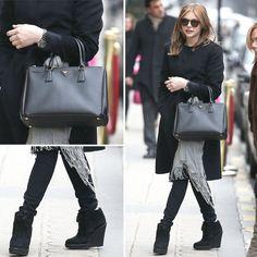 Chloe Moretz's Style in All Black