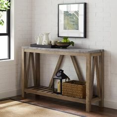 Three Posts Offerman Console Table & Reviews | Wayfair