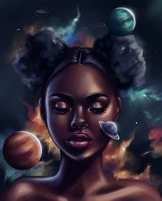 Pin de vicky en arte en 2019 black art pictures, black love art y art. Black Girl Art, Art Girl, Black Girls, African American Art, African Art, Ipad Kunst, Dope Kunst, Arte Black, Black Art Pictures