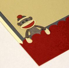 Cute idea for scrapbook page border