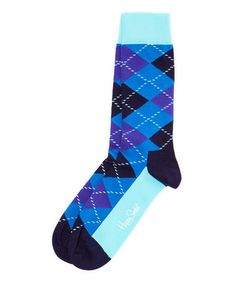 This Blue & Purple Argyle Socks - Adult is perfect! #zulilyfinds