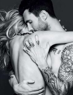 Maroon 5. Adam Levine. Beautiful artwork.