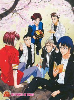 Takeshi Konomi, J.C. Staff, Prince of Tennis, Ryo Shishido, Shuichiro Oishi