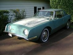 This 1963 Studebaker Avanti is a desirable early model and a major project, but it appears to be quite complete despite needing full restoration. #Avanti, #Studebaker