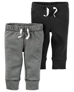 Lot de 2 pantalons très doux