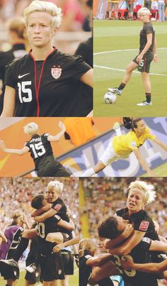 Megan Rapinoe, USWNT, one of my favorite athletes of all time Usa Soccer Team, Soccer Guys, Play Soccer, Team Usa, Soccer Players, Soccer Stuff, Soccer Inspiration, Megan Rapinoe, Women's World Cup