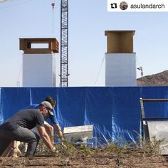 #Repost from @asulandarch  Landscape Architecture Professor Paul Coseo is revamping the Sonoran Sky Garden with the help of a number Landscape Architecture students! Stay tuned #asulandarch #asudesignschool
