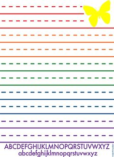 PRE-K WRITING PAPER TEMPLATE