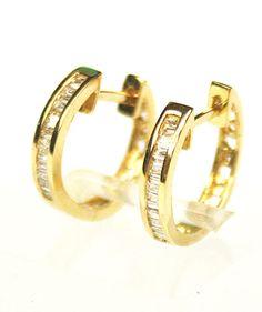 Brincos Em Ouro 18k - R$ 1.532,00