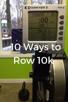 Rowing a long piece doesn't have to be boring! Here are 10 ways that you can make the most of a 10,000-meter row, and keep it interesting. Let us know how you like them! www.ucanrow2.com