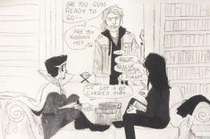 Loki and Dr. Strange getting along