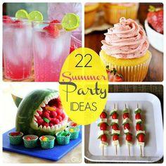 22 symmer party ideas