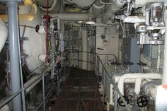 nuclear aircraft carrier engine room - Google Search