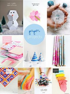 Paper crafts and 52 Willowday DIY + Treats from 2014 Diy Paper, Paper Art, Paper Crafts, Diy Crafts, Creative Activities, Creative Kids, Paper Light, Diy Origami, Paper Lanterns