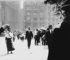 Century-Old Film Footage Edited to Present a More Dynamic View of New York City Life in the Early Toronto Light Festival, Lace Parasol, Frederick Douglass, Colossal Art, Make Pictures, City That Never Sleeps, Champs Elysees, Silent Film, What Is Life About