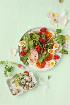 Frühlingssalat mit Blutorange I © GUSTO / Theresa Schrems I www.gusto.at