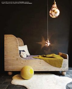 Cozy woodland theme | 10 Dramatically Dark Kids Rooms - Tinyme Blog