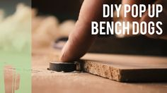Bonus track: DIY pop up bench dogs