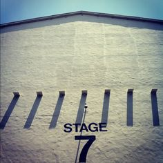 "Stage 7 on the Paramount Pictures lot.  ""A Place in the Sun"" ('51) & ""Coming to America"" ('88) were filmed there. #Paramount100 #movies #hollywood"