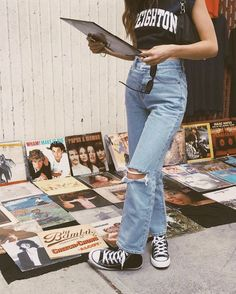 53 Ideas How to Achieve Vintage Street Style Fashion Fashion Outfits Achieve fashion ideas street style vintage Grunge Outfits, 90s Fashion Grunge, Indie Outfits, Retro Outfits, Cute Casual Outfits, Fashion Outfits, Retro Fashion 90s, Hijab Fashion, Cute Vintage Outfits