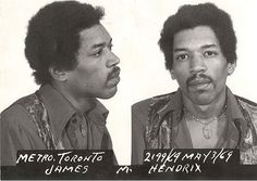 Hendrix. Now that the Florida Clemency Board has granted Jim Morrison a posthumous pardon for exposing himself during a 1969 concert, it seems appropriate to revisit another rock star arrest from that year.  Jimi Hendrix was busted in May 1969 at Toronto International Airport after customs agents discovered heroin and hashish in his luggage. At trial later that year, Hendrix testified that the narcotics were placed in his bag by a fan without his knowledge