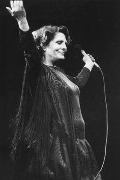 A fadista Amália Rodrigues