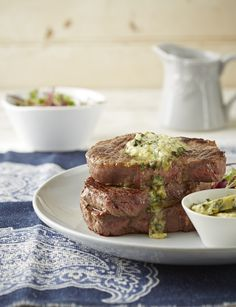 A flavourful butter is one of the best ways to enjoy a steak. Photo by Neville Lockhart