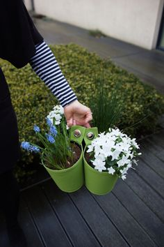 As the weather is getting a little colder, it's time to bring your plants indoors for winter. Of course, it might be a real big issue bringing all these heavy planters. For this reason, we have thought about this problem when designing our products. In fact, our pots and planters are really easy to take thanks to their special handles. It will make the experience less stressful. #bloomingwalls #thegreenpot #garden #gardening #gardentips #autumn #flowers #plants #photography #urbangardening