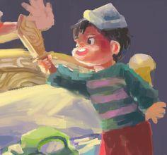 children's illustration by Arjeanette ViveroMore on -> behance.net/jiannejiannedribbble.com/strawberryfields #digitalpainting #digital #art #childrenillustration #kidliterature Digital Media, Digital Art, Children's Literature, Behance, Illustrations, Fictional Characters, Illustration, Fantasy Characters, Parenting Books