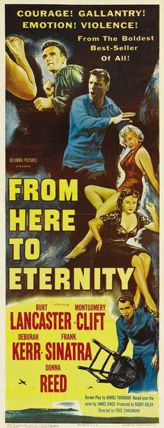 From Here To Eternity (1953) Burt Lancaster, Deborah Kerr, Montgomery Clift, Frank Sinatra
