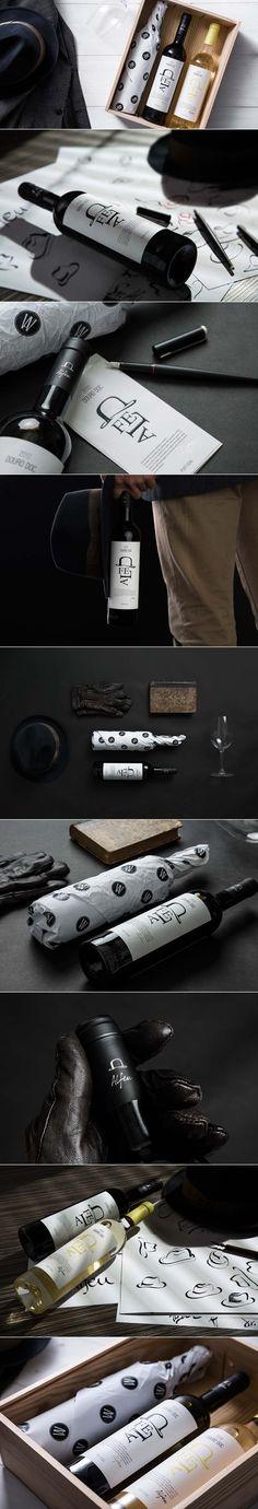 Alfeu: Douro DOC Wine Packaging Design #taninotanino