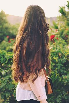How To Make Hair Grow Faster Overnight Naturally : Beauty Tips for Hair Make Hair Grow Faster, Grow Hair, Beautiful Long Hair, Gorgeous Hair, Beauty Tips For Hair, Hair Beauty, Long Hair Problems, Pretty Hairstyles, Wavy Hairstyles