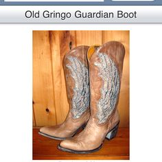 BEAUTIFUL Old Gringo boots! Guardian Angel boots! I love these!!!