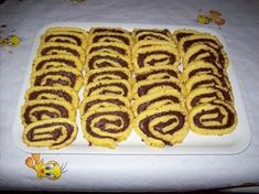 Nutella Recipes, Sweets Recipes, Candy Recipes, Cooking Recipes, Greek Desserts, Easy Desserts, Cupcake Cookies, Cupcakes, Hot Dog Buns
