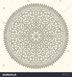 Arabic vintage seamless ornament for background design