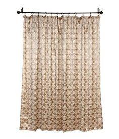 Amazon Avanti Galaxy Shower Curtain Gold Home Kitchen