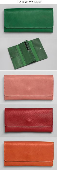 Leather Wallet - Hand Sewn in Missouri USA #fashion #wallet #gift #leather