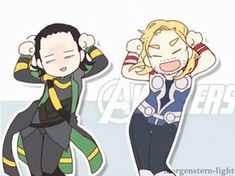 Loki should not be smiling..but it's funny anyway! ahhahah #gif