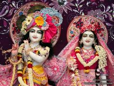 Sri Sri Radha Krishna Close up Wallpaper (001)