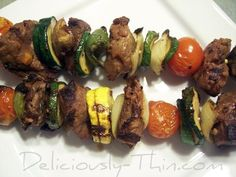 BEST Marinade for Kabobs. **don't marinate the pineapple though. Trust me. beef kabob recipe, shish kabob recipe