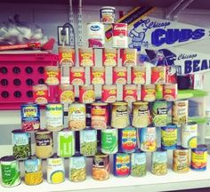 100th day ideas... try to collect 100 cans as a class for a local food drive...  this post has a few other ideas to try this year!