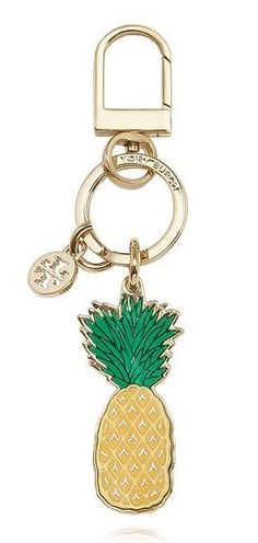 Tory Burch Pineapple Key Fob